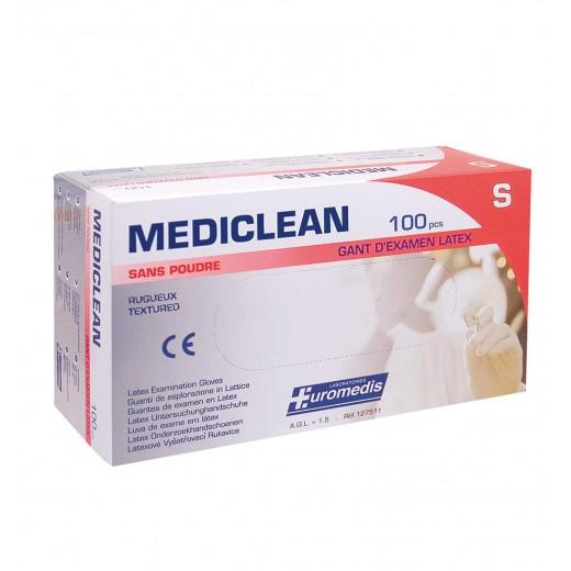 Gants d'examen NON POUDRÉS latex Mediclean®