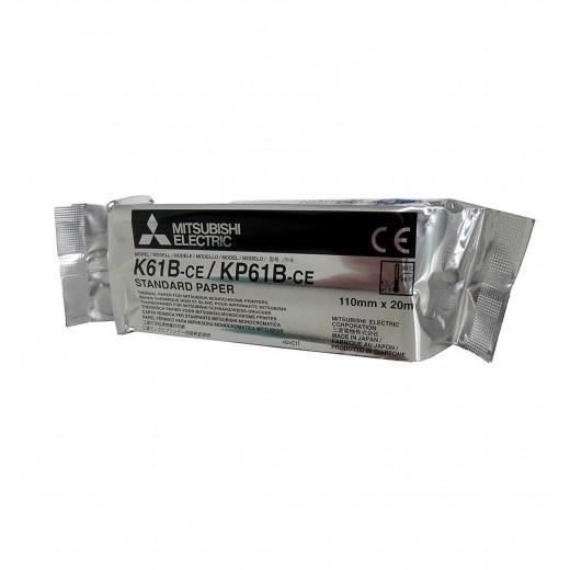 K61B 233796 Papier mat Papier Mitsubishi Impression médical thermique