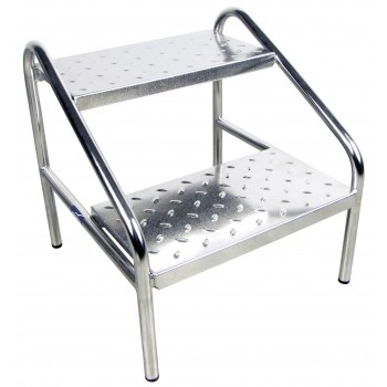Marchepied inox Promotal pour table d'examen
