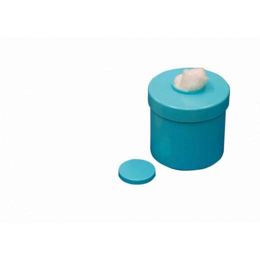 Pots à Coton Melamines Emeraude avec Poussoir