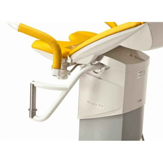 Support fixation main droite pour colposcope Leisegang
